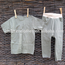 Solid colour summer set baby boy names unique pictures wholesale children's boutique clothes sets
