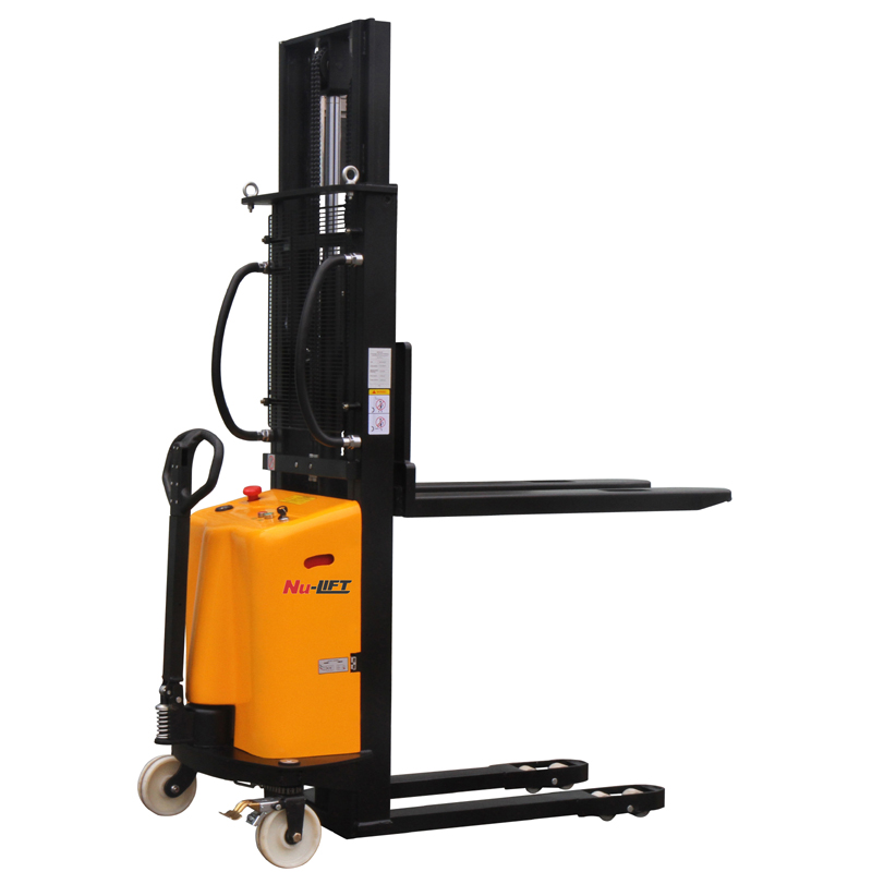 Semi Electric Hydraulic Forklift Stacker