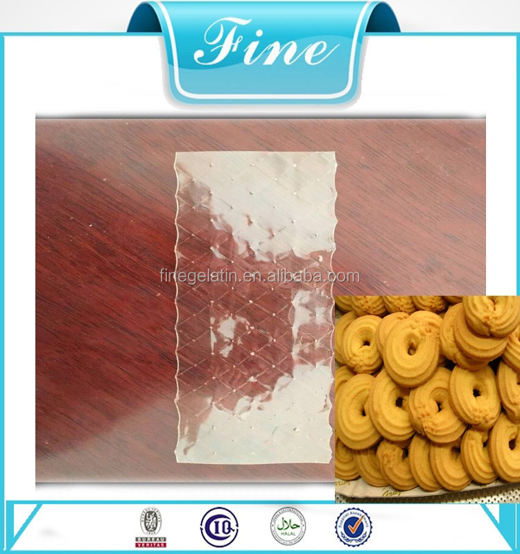 Edible Gelatin Sheets For Pastry