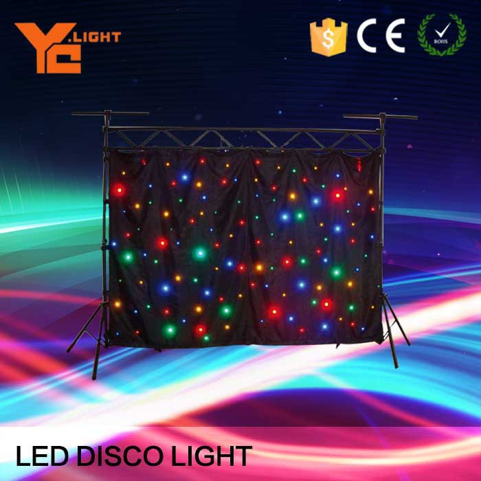 Professional Manufacturer 8 Or 10 Ch Star Led Lighting Effects