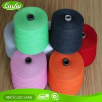 Cnlucky factory professional team fancy cotton knitting yarn for knitting scarf
