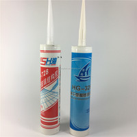 Aofeng Brand High Quality Glass Gel Gum Sticking Glue Structural Silicone Sealant Glass RTV Silicone Rubber Adhesive