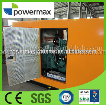 Soundproof canopy producer gas generator set
