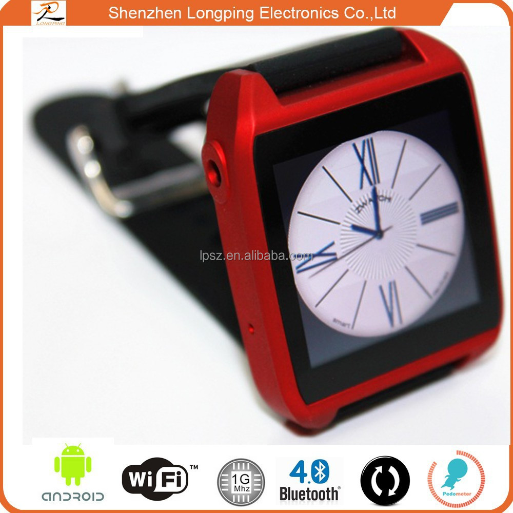 2015 Hot new android 4.4 aw08 Smart phone watch