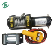 1000 lb. ATV/Utility Electric Winch with Wireless Remote Control