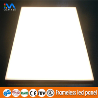 china manufacturer 600x600 surface mounted 30x30 flexible frameless led panel light