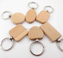 Life Wood Promotion Gift Keychain
