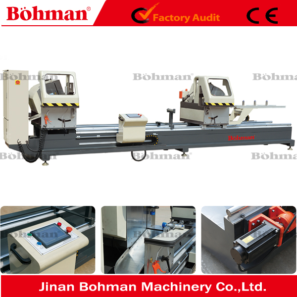 aluminum double head mitre saw cnc aluminum profile cutting saw machine automatic sawing machine