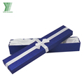 wholesale high quality blue luxury jewelry set packaging gift box bracelet box