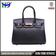 Hot selling trend fashion python bag stylish g brand design hand bags women leather handbags