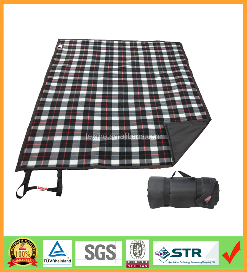 Extra Large Picnic Blanket Custom Pattern Waterproof Outdoor Blankets