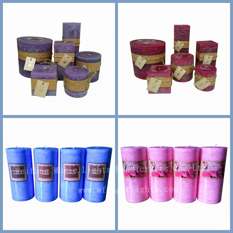 Wholesale best price fashion square spiritual candles for Top selling candle fragrances