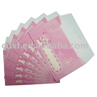pink mini gift envelope for gift cards