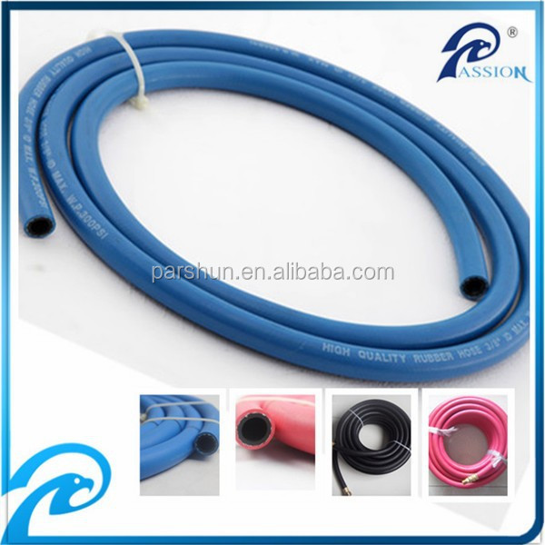 Quality control high temperature resistant fiber braided 20 bar steam flexible hose 1/4""