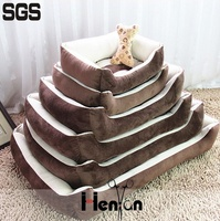 custom wholesale dog bed for large dogs luxury non slip pet dog beds