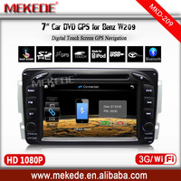 for Mercedes Benz E W210 CLK W208 W209 ML W163 Vito Radio GPS Ipod HD LCD navigation headunits Car GPS dvd tape recorder player