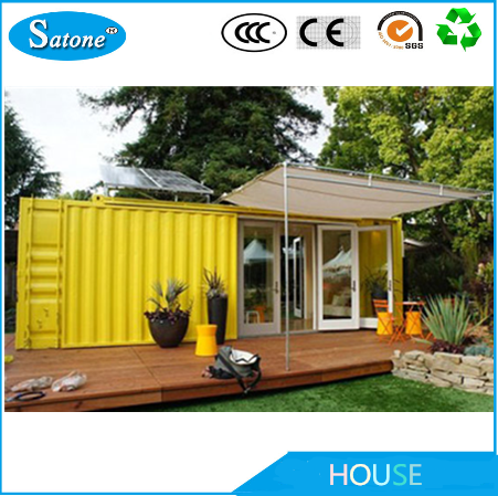 stackable anti-earthquake convinent cabin container home
