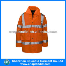 wholeslae hi vis 3m drilling long sleeve safety jacket
