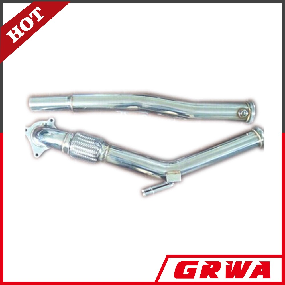 "GRWA Stainless Steel Exhaust Downpipe for VW Golf MK5 GTI 2.0 3""/ Jetta 2.0T 06-08 / Aud i A3 1.8T/2.0T in Exhaust System"