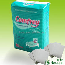 Medical disposable under pads hospital bed pads 60*60cm /60*90/60*150cm/80*150cm made in China Zhejiang factory