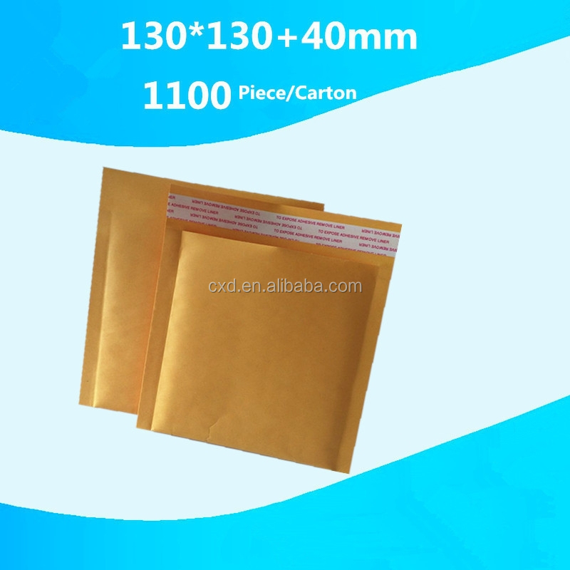 All Sizes - MAIL LITE PADDED BUBBLE ENVELOPES JIFFY BAGS 130x130+40mm