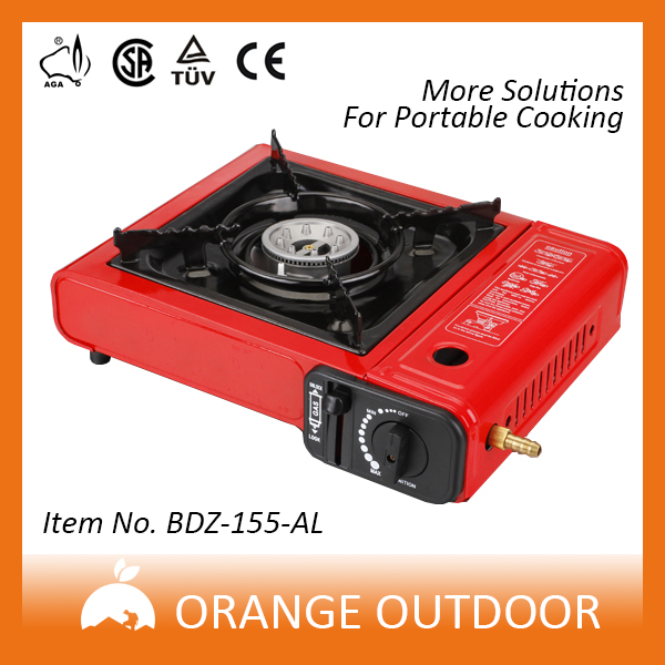 ultrathin table top butane cassette gas cooker for emergency use