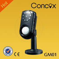 China anti theft gsm auto dial alarm system GM01 long time recording hidden camera /mini wireless hidden camera