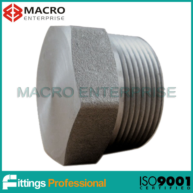 MSS SP-79, 83, 95, 97 forged fittings hexagon head plug