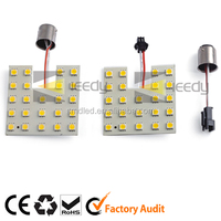 square type smd 5050 led auto car light interior accessories