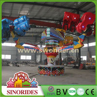 Thrill Attraction Rides Family Attraction Rides Energy Claw Amusement Park Games Factory in China