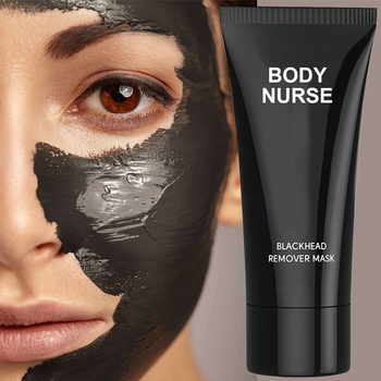 Suction Black Deep Cleansing Tearing Resist Nose Blackhead Face Mask