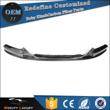 ML Style Carbon Fiber Car Front Bumper Lip Spoiler for BMW F22 Mtech M235I