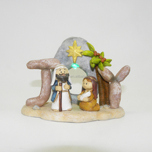 Factory price Resin Christmas outdoor nativity scenes