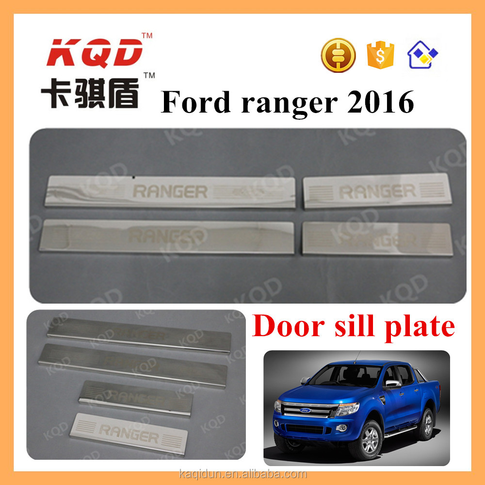 side step forranger side step stainless steel door sill scuff plate for 2016 ranger accessories car door sill plate