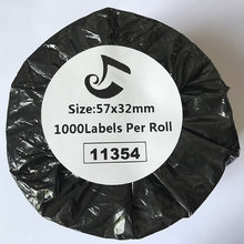 DYMO label 11354 Direct thermal roll 57mmX32MMX1000PCS Dymo compatible label Customs Data