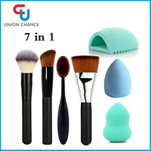 7 in 1 Makeup Tools Best Sale Cosmetic Brushes Beauty Care Makeup Accessories