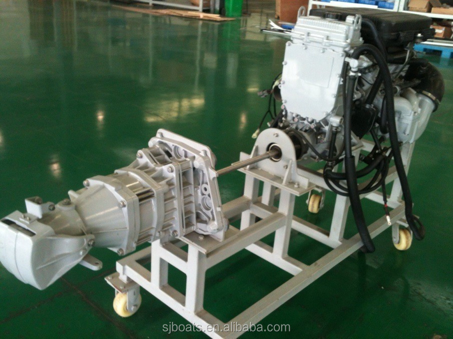 High efficient inboard water jet boat engine small jet for Jet motors mini for sale