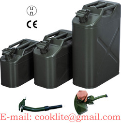 Petrol Diesel Use and Steel Material Jerry Can UN approved Army Fuel Tank 5L/10L/20L