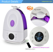 China supply colorful dry fog aroma diffuser