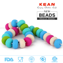 Non-toxic silicone beads anding wholesale for door bead curtains walmart