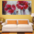 Popular modern flower handmade oil painting on canvas wall art for living room decoration