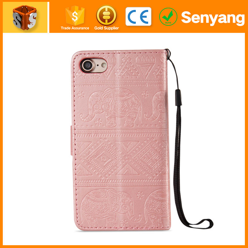 professional factory produce Leather Mobile Phone Case for iPhone