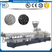 Twin screw extruder/ Color plastic PS PC ABS granules making machine