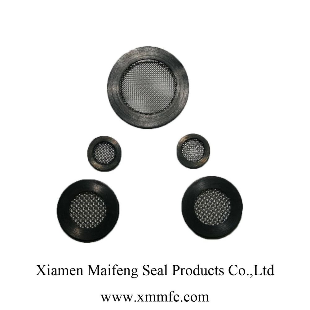 filter washer and screen gasket rubber SS316 SS304 for milk machine and faucet hose