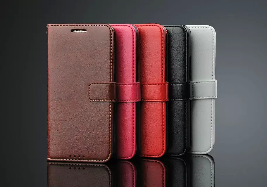 Luxury Business Style Stand Wallet Cases For HTC One M9/ With Card Slot PU Leather Case