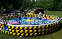Creative sports game mechanical spinning jump bar for Children