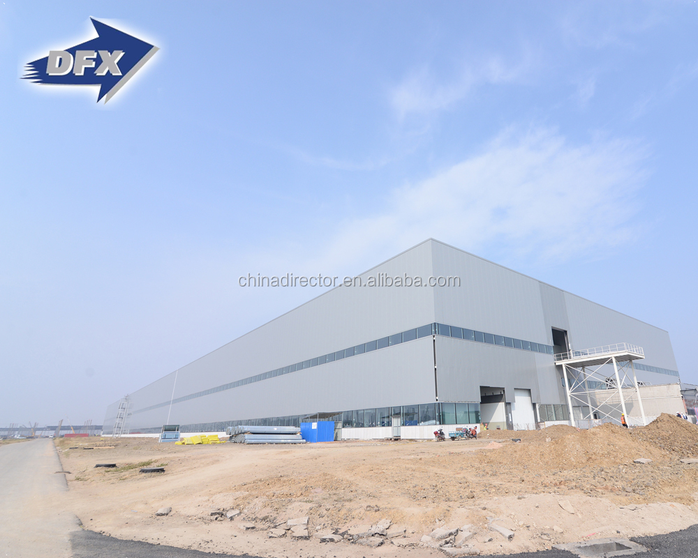 China manufacturers prefabricated steel structure warehouse price