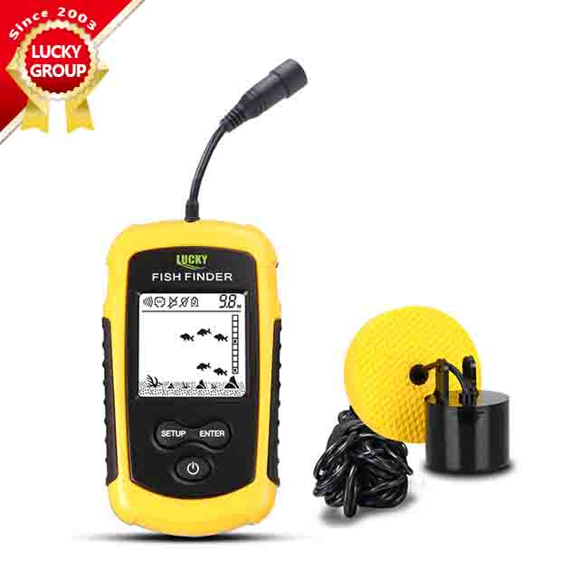 Lucky Portable FF1108-1 Ice Fishing Fish Finder Sonar