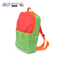 2016 latest designs kid school bag backpack china