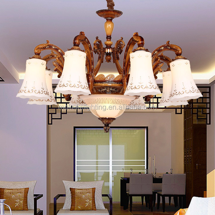 Chinese vintage style led chandelier pendant lighting